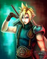 Cloud Strife by raposavyk