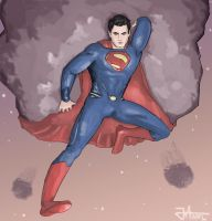 Man Of Steel by thewipeout