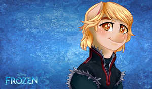 .My Frozen Pony: Kristoff. by Kikuri-Tan