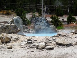 Norris Geyser Basin #2 by KRHPhotography