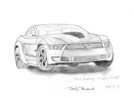 Ford-Mustang-Giugiaro-Concept by botonddeak