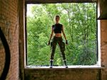 Lara Croft - Window by TanyaCroft