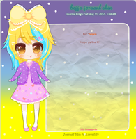 .:Journal Skin Commission:. bejja by Korollily