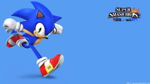 Sonic 2|Wallpaper| Super Smash Bros. Wii U/3DS by Gibarrar