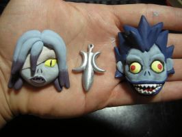 Rem and Ryuk Jewlery by Darmael