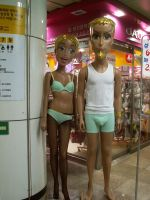 Scary Korean Mannequin by CorazondeDios