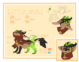 Contest Character Ref by i-VI