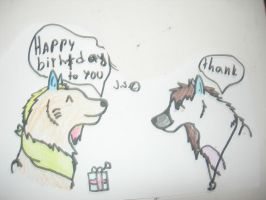 Happy birthday to you by Kihomi-doglover