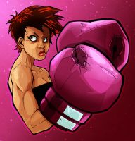 La Pugilista by Joey-Zero