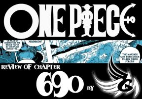 Review: One Piece chapter 690 - Law's cool hat by FallenAngelGM
