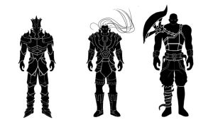 Warrior concepts by Ran-D
