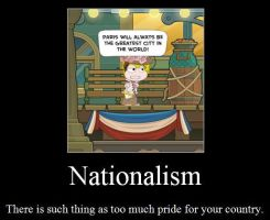 Nationalism Motiv. Poster by 1313cookie