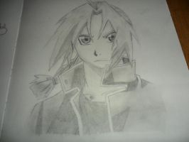 Edward Elric - Smudging by CopperLetters