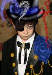asa butterfield as ciel phantomhive by theMAD-teaparty
