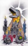 Holy Grimlock by zombijesus666