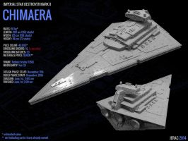 LEGO Imperial Star Destroyer Chimaera data sheet by Scharnvirk