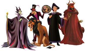 My Top 5 Disney Villains by Leonheart27