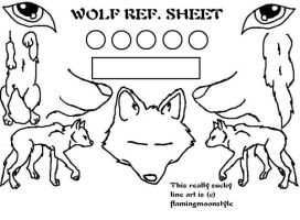 .: FREE WOLF REF SHEET :. by Shishiaru