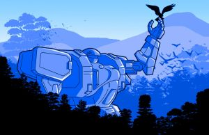 Giant Robot by CJJennings
