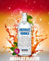 ABSOLUT  FLAVOR by bihaus