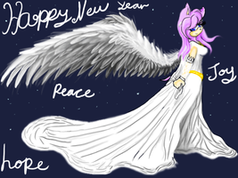 New Year of Angels by VioletHybrid