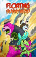 Floating BunnyHead Western Action by JackHook