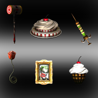 Injustice: Gods Among Us: Harley Quinn Items by iK1L73r