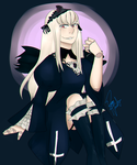 Suigintou by PaoVuante