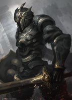 Bronze Crusader by CGlas