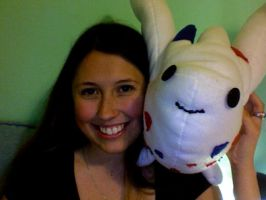 Commissioned Togekiss Plush by Jackiecello23