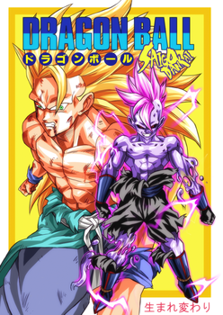 DB Doujinshi cover by turtlechan