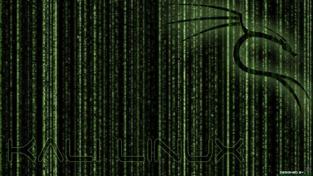 Kali Linux BackTrack Wallpaper Green v.1 by ZeroxProject
