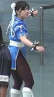 Chun-Li of Street Fighters at Anime Expo 2011 by trivto