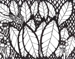 Butterfly 2 +black and white+ by MadMother88