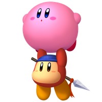 ADVENTURE (with Kirby and Waddle Dee) by AnarchyAngel91