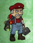 Old Mario by Finfrock