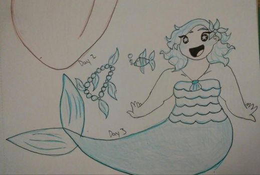 Mermay Day 3 by LittleMissCurly