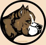 Logo: pit bull chocolate by Reike