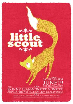 Little Scout Gig Poster by joybox-blues