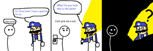 Stick Dude Comix --- 4 by TheGame22q