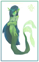 Mermaid lady chick by Captain-By-Moonlight