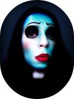 Corpse bride make up by mocorock