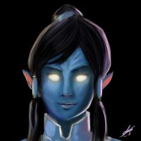 League Of Selfies: Korra Avatar by CharlyChive