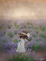 Little Lavender Girl by Sue55