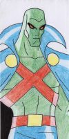 The Martian Manhunter by HulderArt