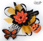 Commission: Halloween Spirit Kanzashi by SincerelyLove