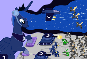 NATG Day 13 - The Armies of the Moon by phallen1