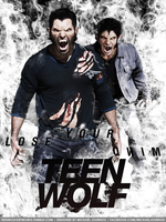 Teen Wolf Poster Season 3 - Derek/Scott by FastMike
