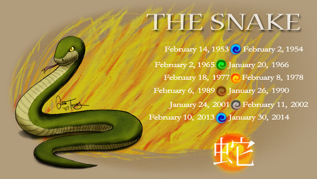 Year of the Snake by BlazeTBW