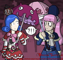 Perona and Juvia? by BrokenTeapot